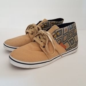 Vans Mid Top Canvas Lace Ups